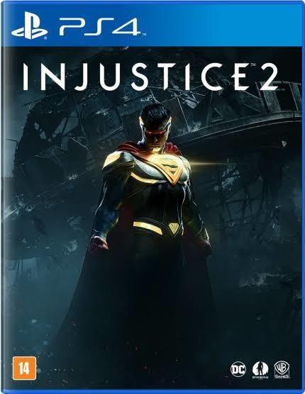 Injustice 2 Mídia Física Ps4