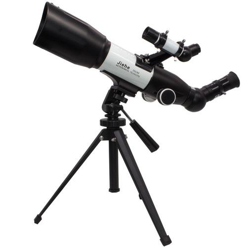 Luneta Telescopio Astronômico Profissional Jiehe 350x60mm