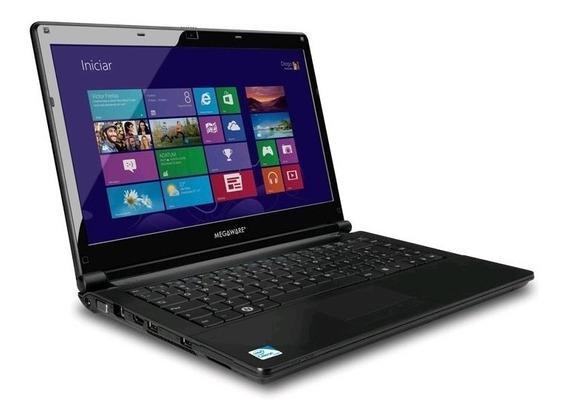 Notebook Megaware Celeron 2gb 250gb Windows 7 14