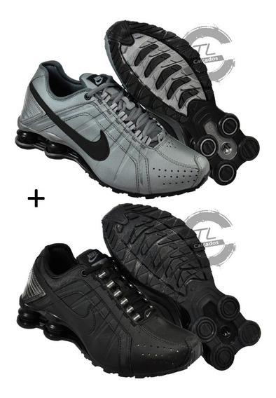 Tênis Nike Sxhox Junior 4 Molas Masculino Feminino Kit 2 Par