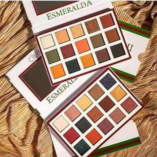 Paleta Esmeralda Beauty Creations Original 1 O 2