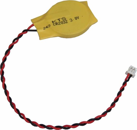 Bateria Cr2032 3.0v Cmos Setup Bios Placa Mãe 2 Fios