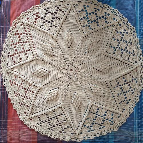Alfombras O Carpetas En Crochet Tejidas En Hilo De Algodón