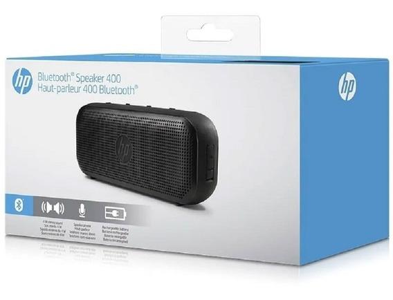 Caixa Som Hp Speaker 400 Bluetooth Viva Voz Microfone Ñ Jbl