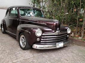 Ford Clásico 1948 Súper Deluxe Coupe