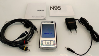 Celular Nokia N95 - Pronto Para Uso!