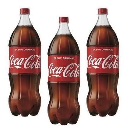 Imagem 1 de 1 de Refrigerante Coca-cola 2l Pet C/03 - Com Nota Fiscal