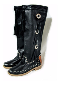 Calzado Lola Roca, Botas Botinetas , Indian Style , India