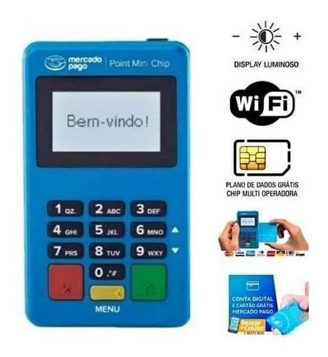 Imagem 1 de 3 de Point Mini Chip Máquina Maquininha De Cartão Mercado Pago