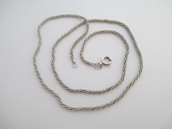 Bonito Cordão De Prata 950 - 6.13 Gr - 46 Cm