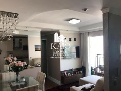 Apartamento No Fatto Sport Faria Lima Mobiliado De 56m² Com 3 Dormitórios, Lazer Completo - Ap1154