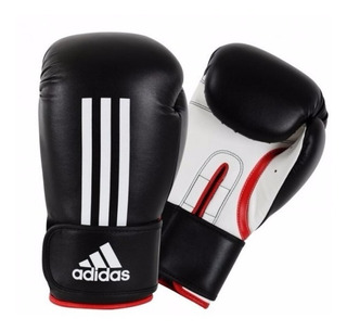 Luva Boxe / Muay Thai adidas Energy 100 Preta / Branca