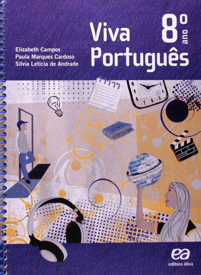 Livro Viva Português Didáticos Ensino Fundamental 2 - 8º Ano