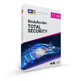 Bitdefender Total Security 2019 5 Dispositivos 6 Meses ®