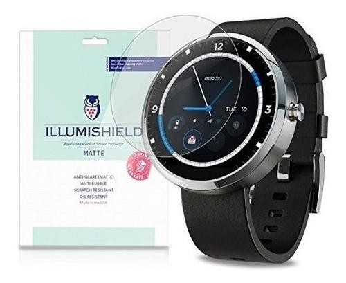 Imagen 1 de 5 de Illumishield - Motorola Moto 360 Android Smartwatch