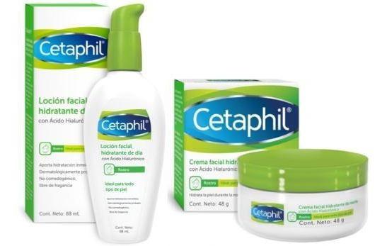 Kit Cetaphil Hidratante Dia Y Noche Con Acido Hialuronico