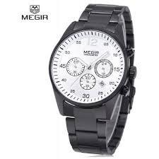 Relógio Original Masculino Megir Casual Prova D´água
