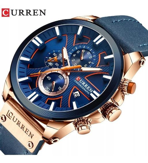 Promoção Relógio Masculino Curren 8346 Lançamento