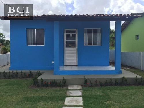 Casa  Residencial À Venda, Igarassu - Ca0012