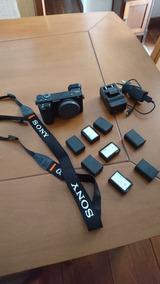 Sony A6500 + Acessórios
