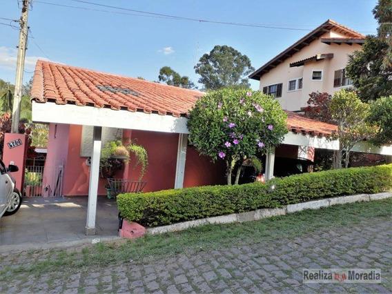 Casa 04 Dormitórios - Semi Mobiliada- Condomínio Fechado - Granja Viana - Ca1033