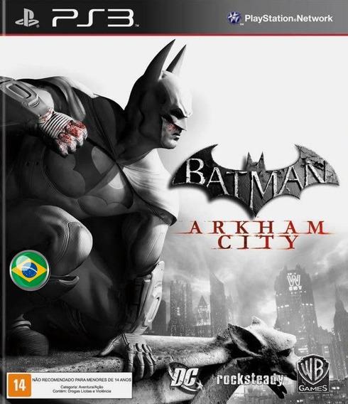 Batman Arkham City Portugues - Jogos Ps3 Playstation 3
