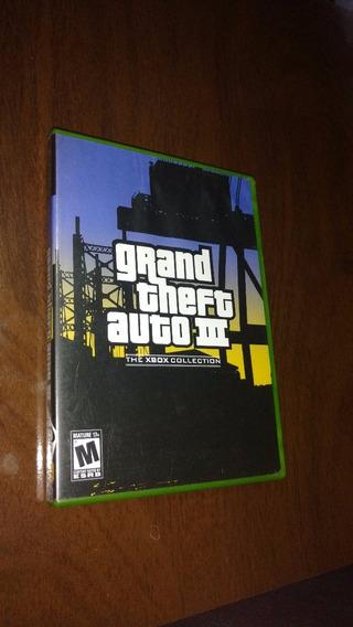 Gta 3 - Grand Theft Auto Iii 3 - Xbox Classic - Original Eua