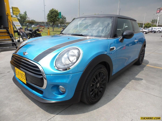 Mini Cooper Black Streep