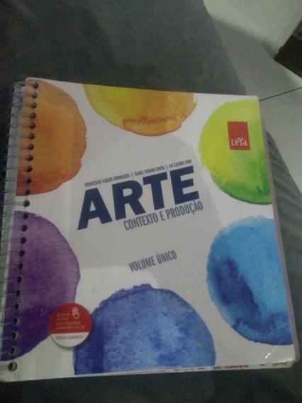 Arte Contexto E Produção Leya Volume Único