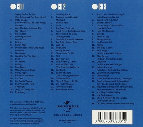 Roy Orbison Collected Cd Nl Import