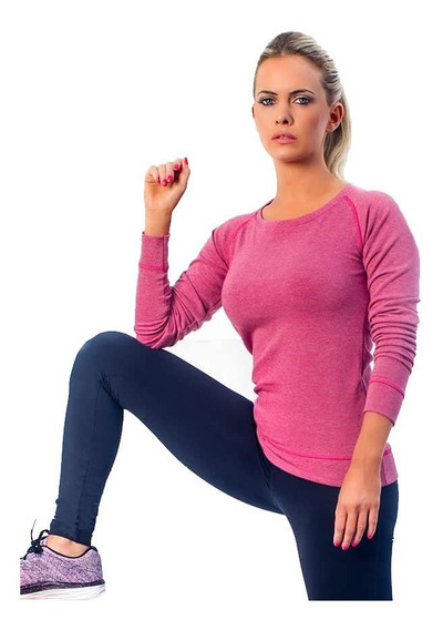 Buzo Soft Ladyfit Sport Rosa - Fitness Point Mujer