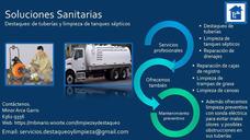 Destaqueo De Tuberías 6361-9356 Y Limpieza De Tanques 24/7