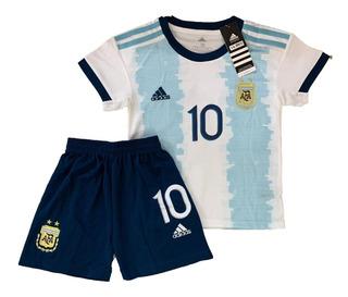 Kit Infantil Da Seleção Argentina