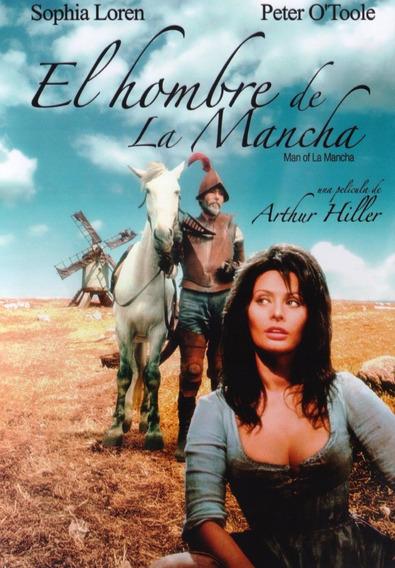 El Hombre De La Mancha Arthur Hiller Pelicula Dvd