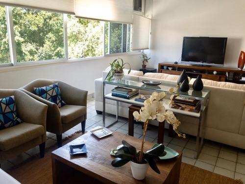 Imagem 1 de 30 de Apartamento À Venda, 3 Quartos, 1 Suíte, 1 Vaga, Jardim Botânico - Rio De Janeiro/rj - 1544