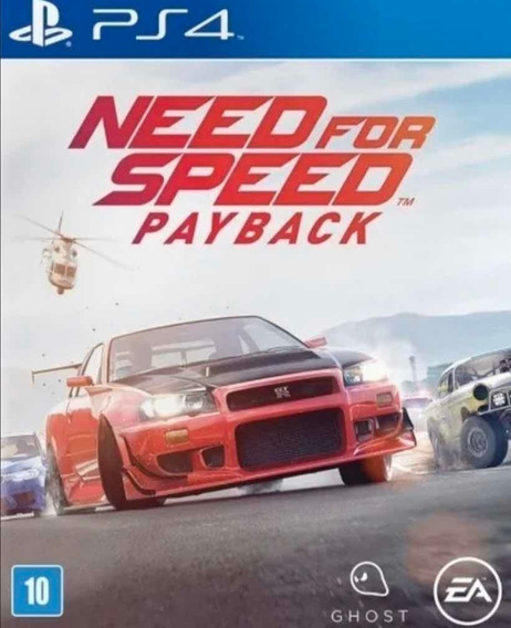 Need For Speed Payback Ps4 Digital Vitalício