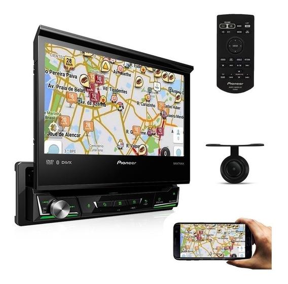 Dvd Automotivo Pioneer Carro Tela 7 Bluetooth Tv + Camera