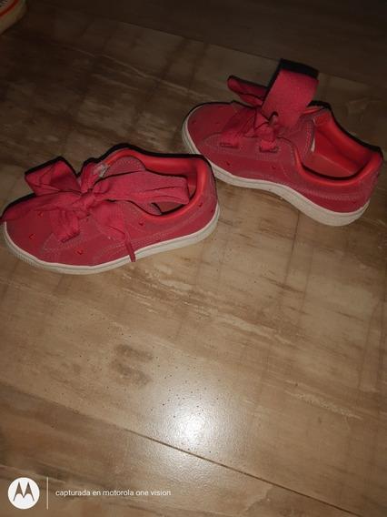 Zapatillas Puma Niñas Rojas