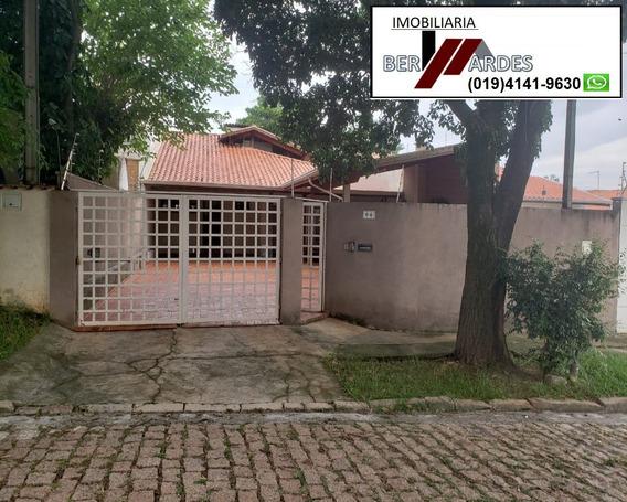 Casa Para Venda Bosque De Barão Geraldo, Campinas - Ca00102 - 32808076