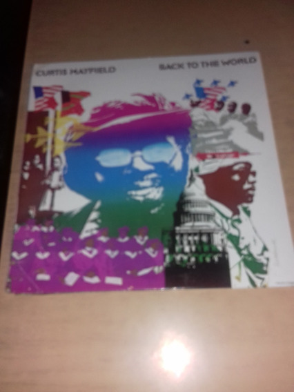 Curtis Mayfield - Vinilo Back To The World