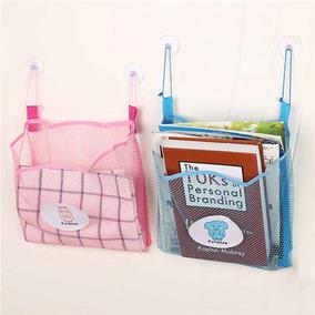Saco Organizador Brinquedos Infantil Banho Do Bebê Banheiro