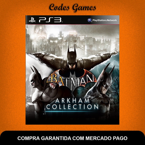 Batman Arkham Collection - Ps3 - City Asylum E Or