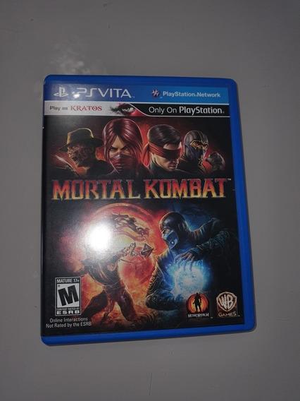 Mortal Kombat - Ps Vita - Mídia Física
