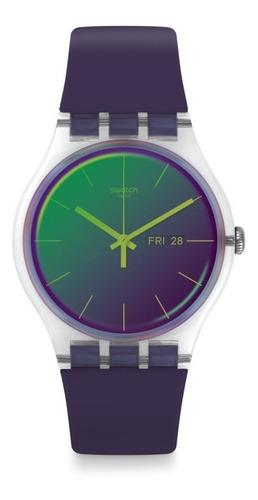Relógio Swatch Polapurple Suok712