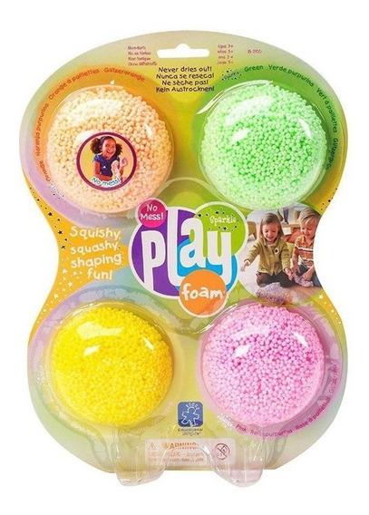 Kit Play Foam Massinha De Modelar Tipo Espuma
