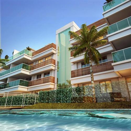 Apartamento À Venda No Bairro Recreio Dos Bandeirantes - Rio De Janeiro/rj - O-9369-18542