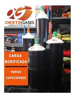 Tubo De Acetileno 7 Kg Cargado Y Con Prueba Hidraulica.