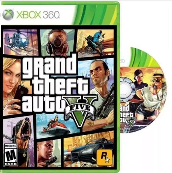 Jogo Gta 5 Digital - Funciona Em Xbox 360 Bloqueado Também