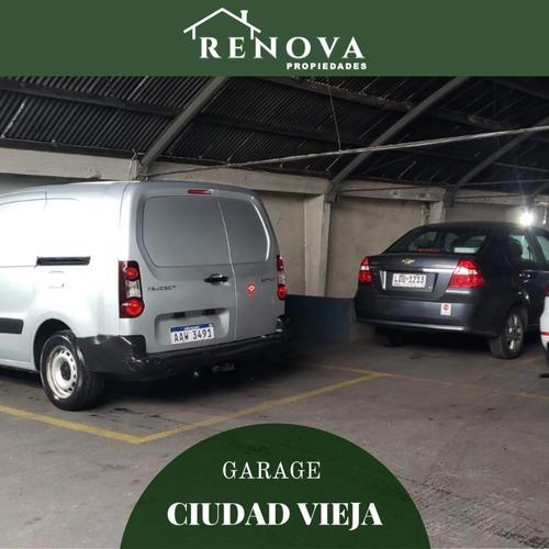 Venta Garage Ciudad Vieja Montevideo C