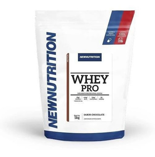 Whey Pro 1kg New Nutrition Suplemento Alimentar